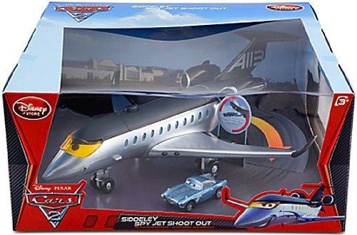 Disney / Pixar CARS 2 Movie Exclusive Playset Siddeley Spy Jet Shoot Out Spy Plane