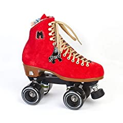 Moxi Lolly               These suede high top fashion forward roller skates fit your lifestyle and can be used for indoor or outdoor skating. All Lolly Roller Skates come with Moxi Gummy wheels and an adjustable toe stop. Moxi...