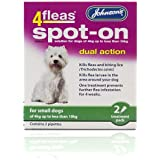 Johnson's 4Fleas Spot-On Dual Action for Small Dogs