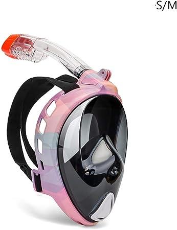 masque respiratoire rose
