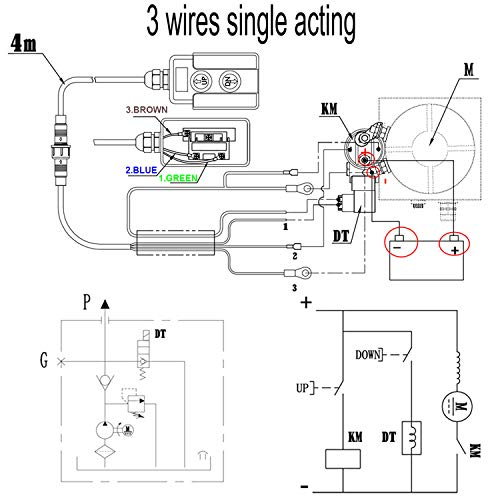 Dump Trailer Double Acting Pump Wiring Diagram Manual Guide