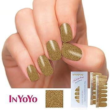 Amazon In Yoyo H 209 Bling Bling Nail Polish Strips 3d Glitter