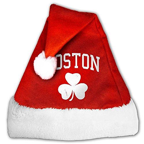 Christmashat Boston Irish Shamrock Santa Hats Irish Santa Hat