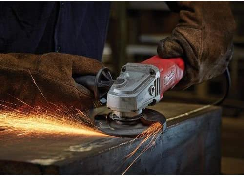 Milwaukee Electric Tool 6142-30 Electric Small Corded Angle Grinder 120 V