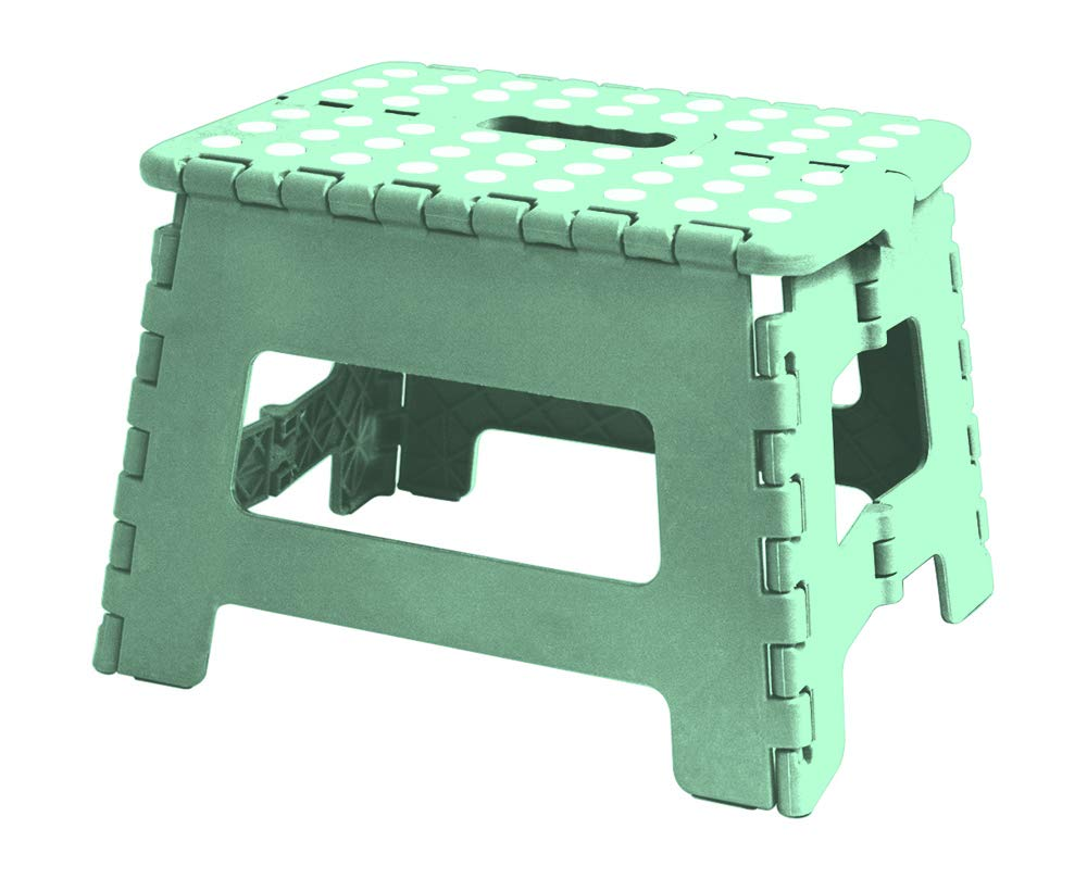 White and Black HOME EXPRESSIONS 9 Folding Step Stool 12.5x10x9