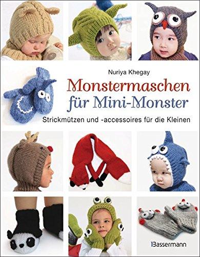 Monstermaschen für Mini-Monster. Strickmützen und -accessoires für die Kleinen