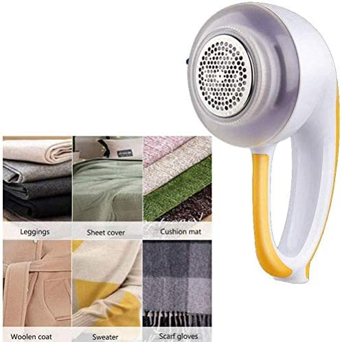 JJSFJH Lint Shavers Fabric Shaver, Rechargeable Electric Lint Remover Fabric Shaver and Lint Remover,Stainless Steel Blades Efficient Bobbles Fuzz Removing
