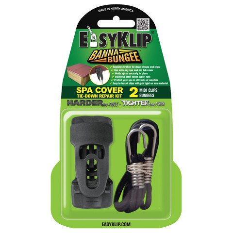 EasyKlip Spa Cover Tie-Down Repair Kit For Cover 5260 (Cover Tie Spa Down)