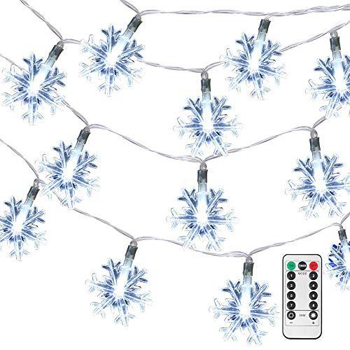 Led Snowflake Light String in US - 8