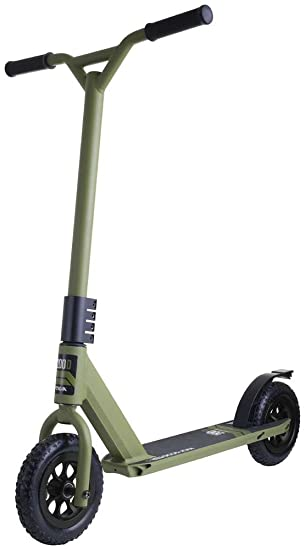 STIGA Patinete Dirt Scooter Verde: Amazon.es: Deportes y ...