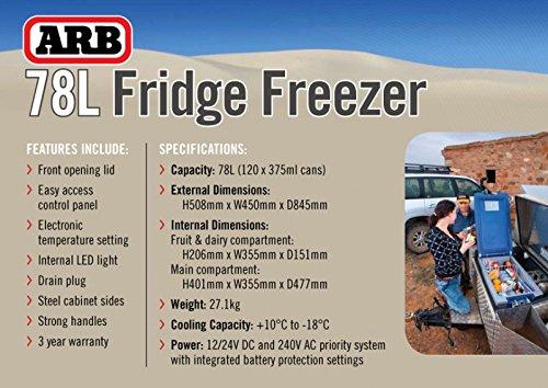 ARB Fridge Freezer 82 Quart Bundle with ARB Wireless Fridge Remote Display 10800782RM by ARB (Image #7)