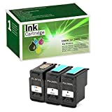 Limeink 3 Set Remanufactured Ink Cartridges PG-240XL CL-241XL High Yield for Pixma MG2120 MG2220 MG3120 MG3220 MG3222 MG3520 MG4220 MG4120 MX392 MX372 MX432 MX439 MX452 MX459 MX512 MX514