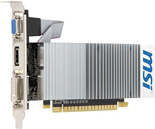 MSI NVIDIA GeForce 210 Grafikadapter (PCI-e, 1GB GDDR3 Speicher, DVI, HDMI)