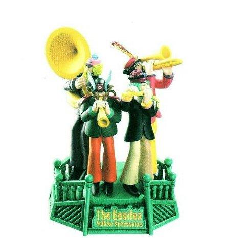 Carlton Cards Heirloom The Beatles Band Yellow Submarine Christmas ()