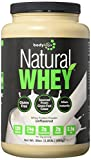 Bodylogix Natural Grass-Fed Whey Protein Powder, Unflavored, 1.85 Pound