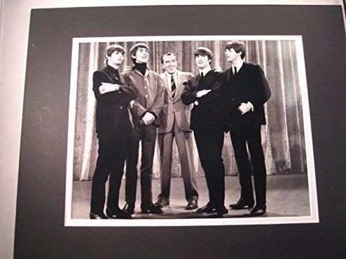 Beatles 1964 Ed Sullivan Show 11x14 Double Matted 8x10 Photo Print John Lennon Ringo Paul Mccartney George Harrison