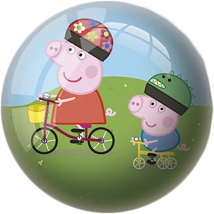 Peppa Pig Pelota de 15 cm (Mondo 1317): Amazon.es: Juguetes y juegos