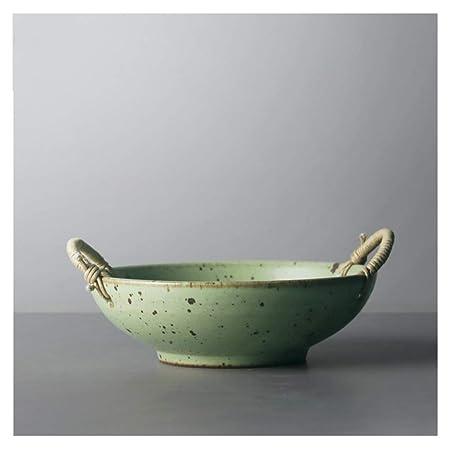 LZG Vintage Handmake de cerámica Olla de Barro Brown Horno Caja de ...