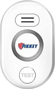 Pikkey Smart Home Water Leak Detector, 1 Pack WiFi Water Sensor, Mini Flood Alarm System with Sensitive Leak and Drip APP Alerts for Kitchen Bathroom Basement Warehouse Shop
