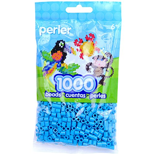 - Perler Beads Fuse Beads for Crafts, 1000pcs, Turquoise