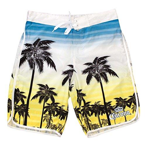 Corona Yellow Sunset Board Shorts product image