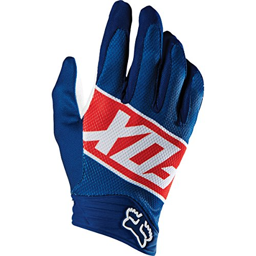 - Fox Racing Divizion Airline Men's MotoX Motorcycle Gloves - Red / Small