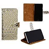 swankmobilecovers Wallet Flip Cover for LG X Power(TPU-SILVER)