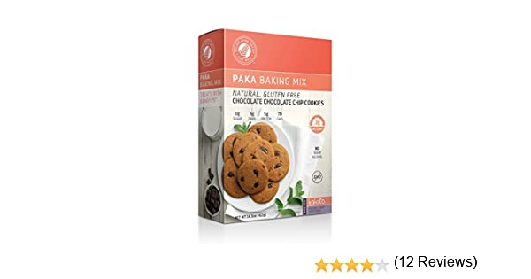 Diabetic & Macro Friendly Double Chocolate Chip Cookie Mix: High Protein, High Fiber, Naturally Sweetened - Non-GMO, Low Net Carb - Healthy Snacks (1 Box)