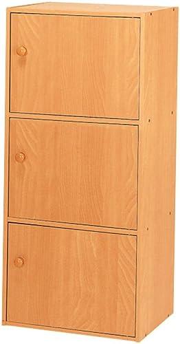Home Source Industries US 3121 3-Door Utility Cabinet, Beech Finish