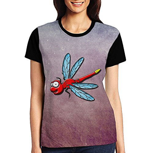 fly Womens Punk Cosy Premium Fitted T-Shirts (Dragonfly Womens Fitted T-shirt)