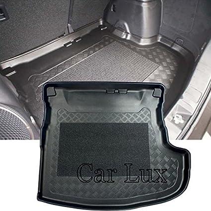 Alfombra Cubeta Protector cubre maletero a medida con antideslizante y borde alto Car Lux AR00197