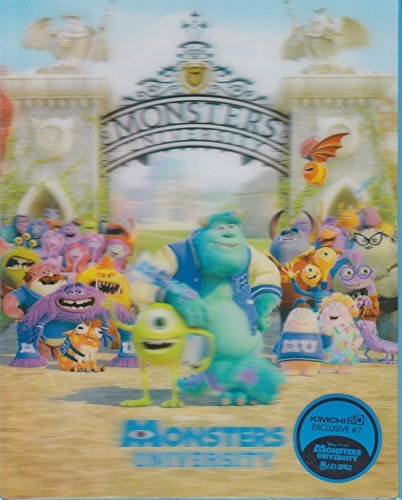MONSTERS UNIVERSITY - SULLY LENTICULAR SLIPCOVER - KIMCHIDVD EXCLUSIVE STEELBOOK #7