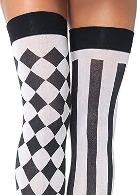 Leg Avenue Women's Harlequin Thigh High Stockings