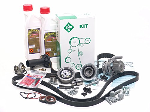 BLAU GH21120-1-C Vw Jetta IV Timing Belt Kit - w/ 4 Cylinder 1.9L TDI Diesel Engine Code ALH - Gen II - Enhanced+ 1.9l Tdi Diesel Engine