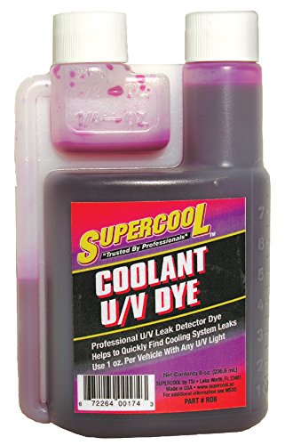 - TSI Supercool RD8 Radiator Dye, 8 oz (Self Measure Bottle)