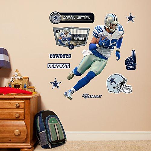 NFL Dallas Cowboys Jason Witten Fathead Wall Decal, Junior