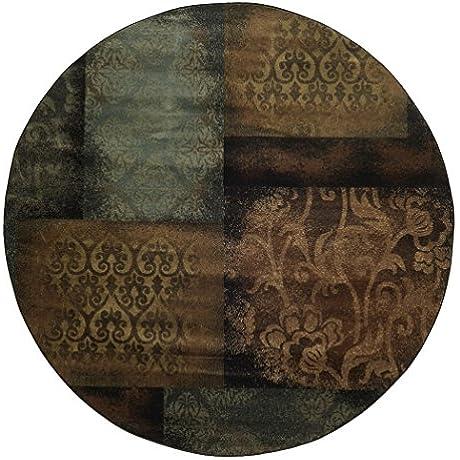 Oriental Weavers Hudson 4878B Indoor Area Rug 7 8 Round