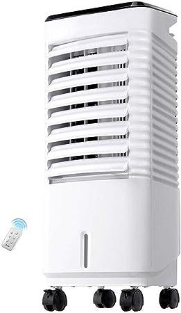 Aire acondicionado portátil FJZ Ventilador eléctrico Aire acondicionado Ventilador Refrigeración móvil Control remoto Ventilador Refrigerador de aire 3 Volumen de viento pinguino aire acondicionado: Amazon.es: Hogar