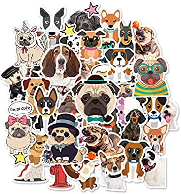 🐶 HaokHome S-004 86pcs Cute Cartoon Dog Stickers for Teens
