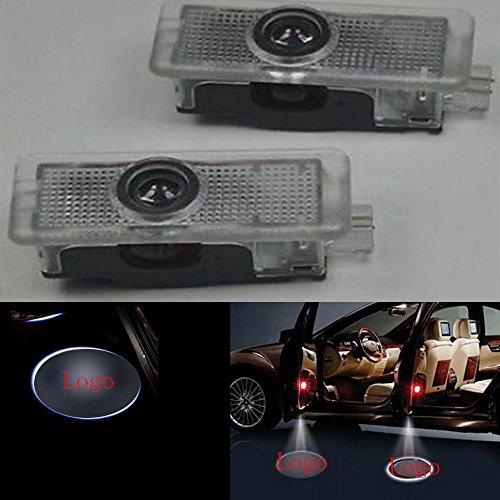 2X LED Door Courtesy Light Laser Shadow Logo Projector Lamp For Mercedes Benz C117 CLA180 CLA200 CLA220 CLA250 C218 CLS220 CLS250 CLS350 CLS400 CLS500 A207 C207 Welcome Light CNAutoLicht #1