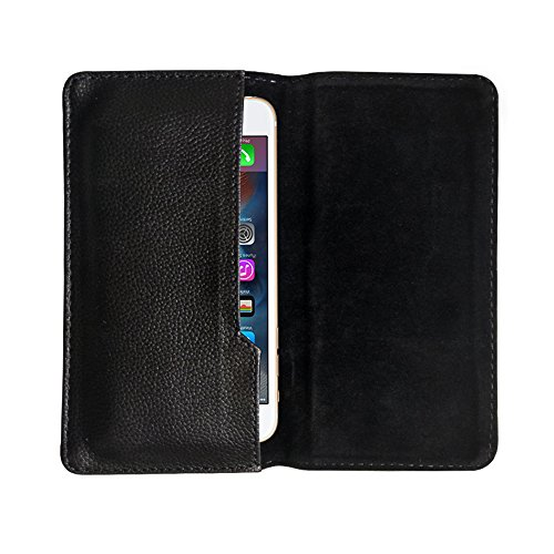 Fastway Leather Pouch Flip Case for Apple iPhone 7 Plus