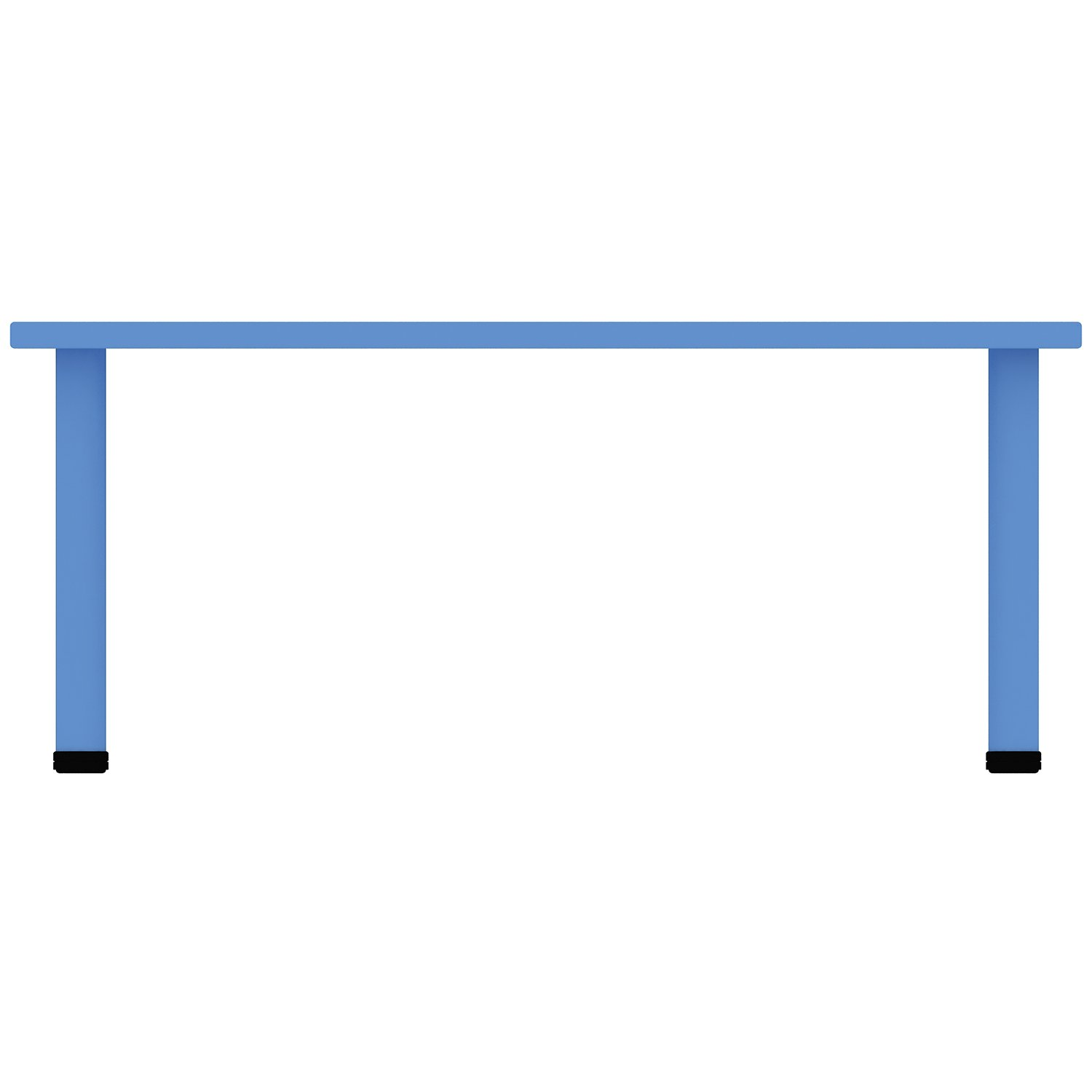 Gentil 2xhome U2013 Blue U2013 Kids Table U2013 Height Adjustable 18.25 Inches To 19.25 Inches    Rectangle Plastic Activity Table With ...