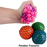 NEON Mesh Squishy Ball (Pack of 12)Squeeze it, squish it, throw it, catch it-Pack of 12 Squish Balls
