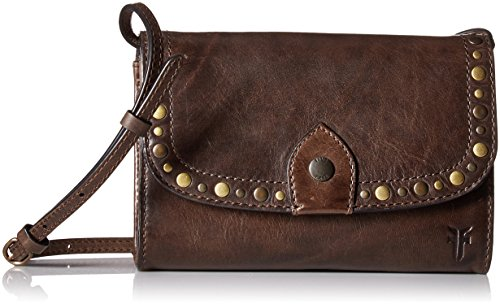 Slate Crossbody FRYE Wallet Melissa Stud Clutch Bag Leather xqwt0Pq