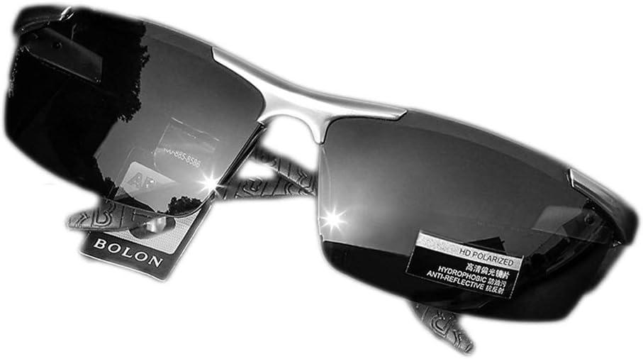 サングラスメンズ偏光板駆動ドライバ運転スクエアレトロサングラスメガネ (Color : Gray) Gray