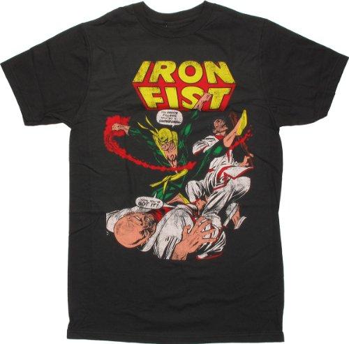 Iron Fist - Iron Fist (slim fit) T-Shirt Size M