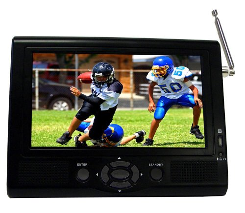 7 in ac dc portable tv - 2