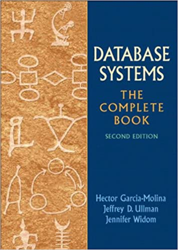 Database Systems The Complete Book 2nd Edition