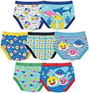 Baby Shark Boys' Toddler Underwear Multip