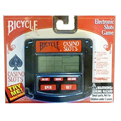 Bicycle Casino Slots Game Tiger Electronics 1994: Toys & Games